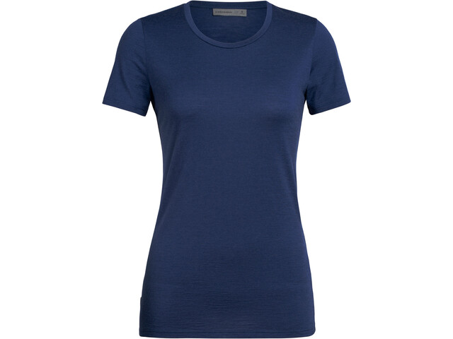 Icebreaker Tech Lite Top Manga Corta Mujer, estate blue